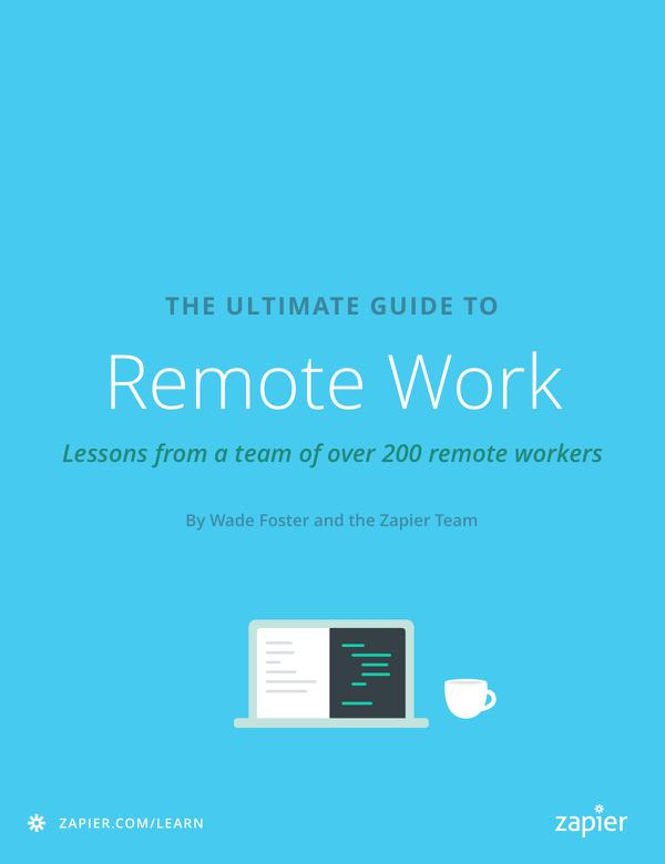 Remote Work eBook