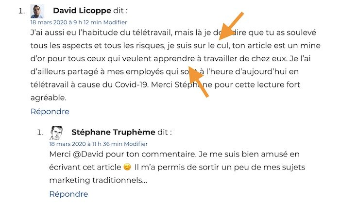 Remote Work Commentaire